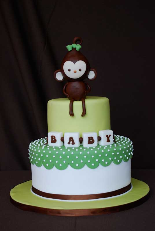 monkey baby shower cake sweet discoveries