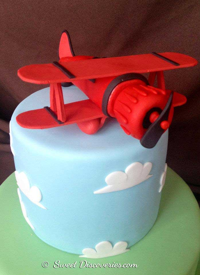 Airplane Cake Sweet Discoveries