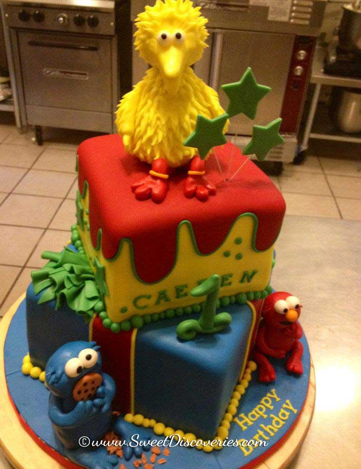 Sesame Street Cake Sweet Discoveries