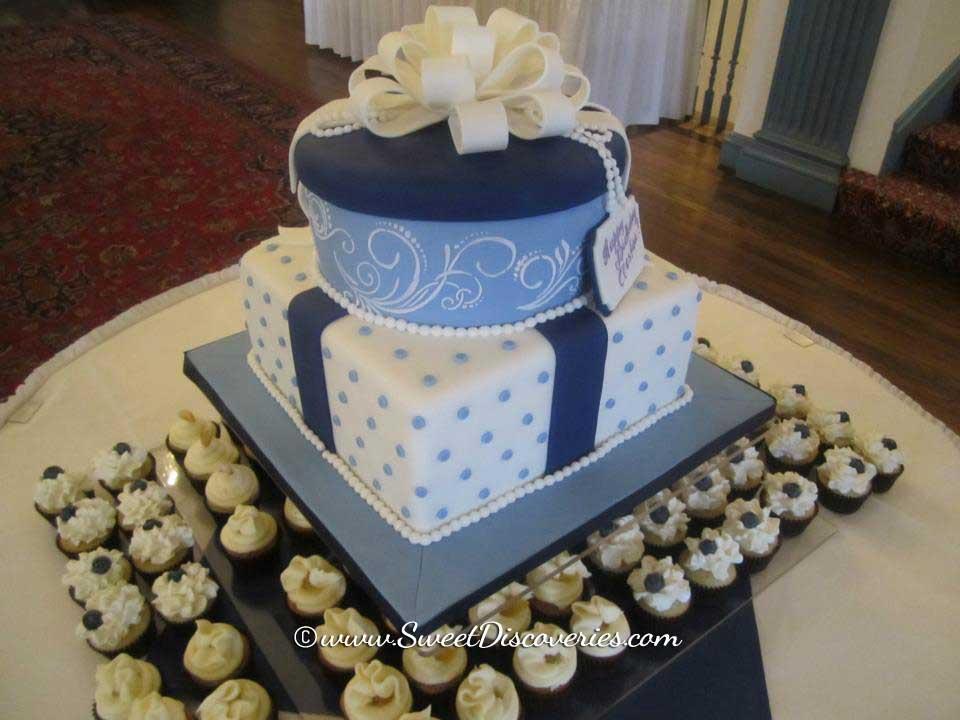 Blue Velvet Cake Sweet Discoveries