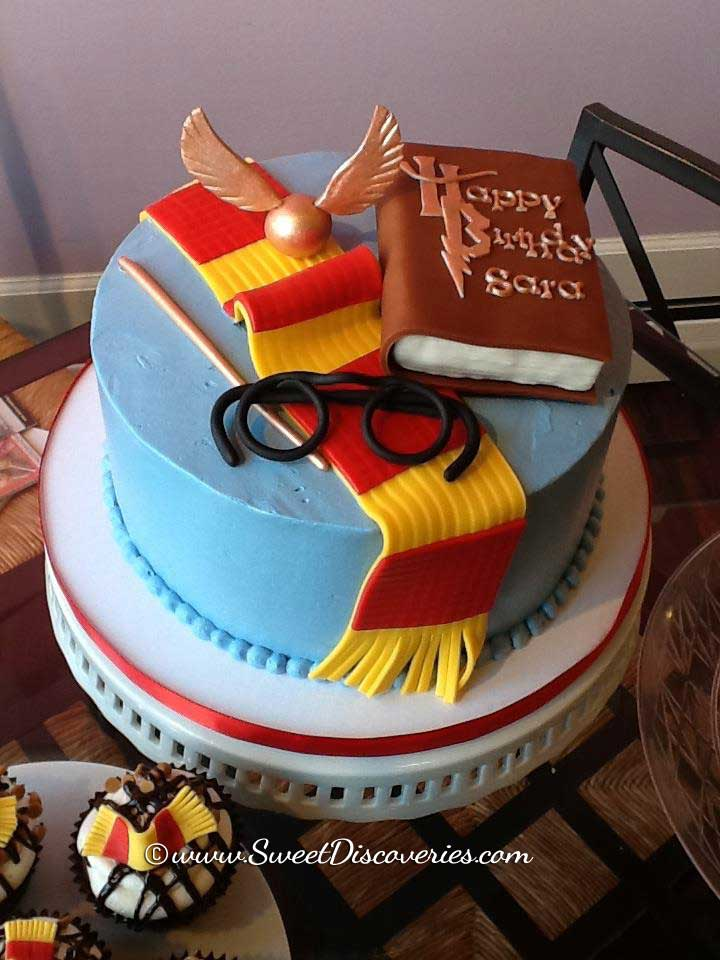 Harry Potter Cake Sweet Discoveries