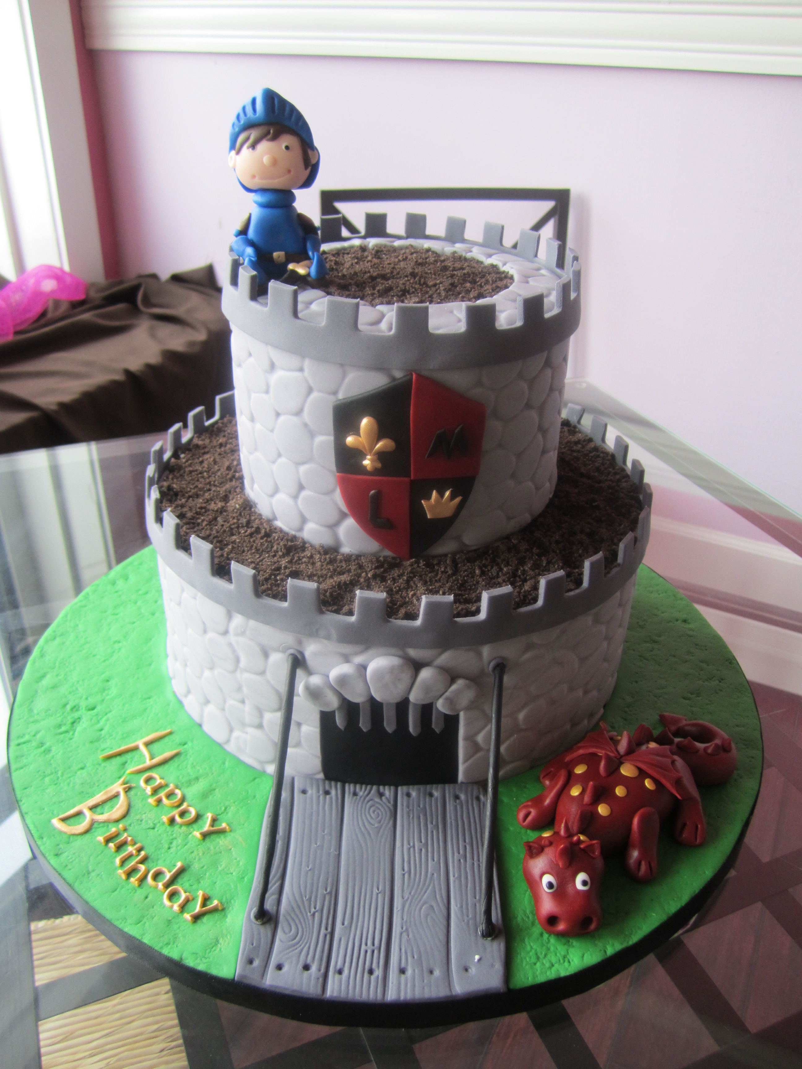 castle cake | sweet discoveries