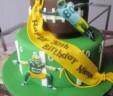 Packer Fan Cake