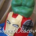 Avengers Grooms Cake 2