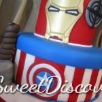 Avengers Grooms Cake 3
