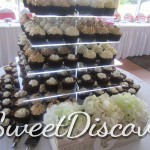 Cara;s Wedding Cupcake Tower