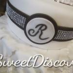 Jen Ruffles Wedding Cake 2