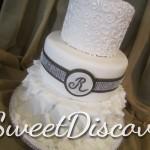 Jen Ruffles Wedding Cake 4