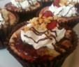New!! Banana Split Cheesecake Cupcake!