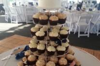 Kristen's Wedding Cupcake Tower