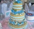 Amber's Naked Wedding Cake