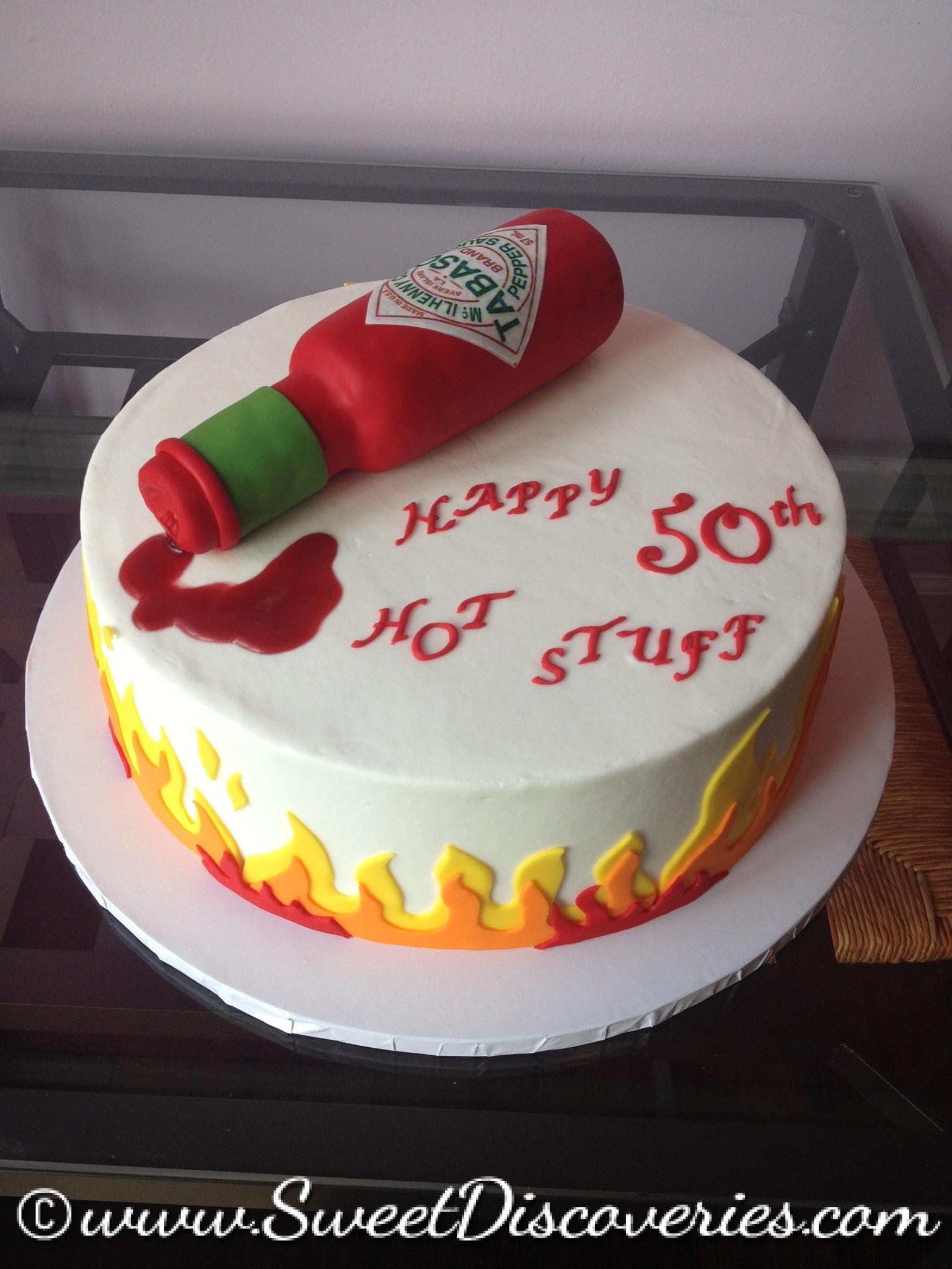 Hot Stuff Birthday Cake Sweet Discoveries