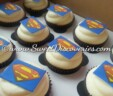 Super Hero Cupcakes from Sweet Discoveries