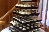 Nikki's Wedding Cupcake Tower