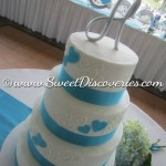 "Tracy""s Wedding Cake"