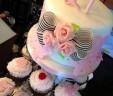 21st Birthday Cake & Cupcakes
