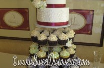Anastasia's Wedding Cupcakes