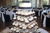 Christy's Wedding Cupcake Tower