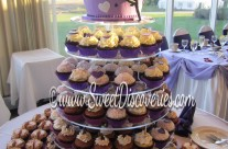 Emilie's Wedding Cupcake Tower