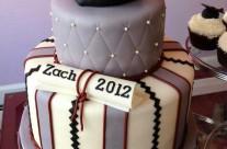Grad Cake and Cupcakes