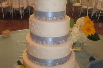Melissa's Wedding Cake