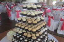 Cara's Wedding Cupcake Tower