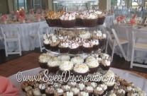 Elegant Wedding Cupcake Tower