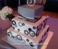 Jen's Wedding Cake