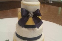 Laura's Wedding Cake