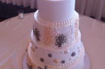 Megan's Seashell Wedding Cake