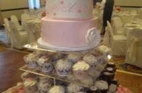 Meghan's Classic Cake and Cupcake Wedding