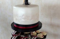 Mr & Mrs Smith Wedding Cake
