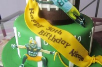 Packer Fan Cake
