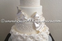 Pillowed Wedding Cake