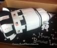 Saturn Space Shuttle Cake