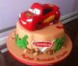 Caeden's CARS Cake