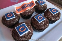Chicago Bears Cupcakes