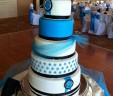 Diamond Buckle Wedding Cake