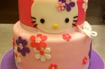 Khloe Hello Kitty Cake