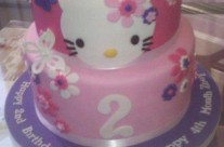 Serene Hello Kitty Cake