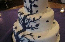 Tree Wedding Cake