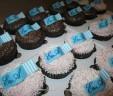 Wedding Initial Cupcakes