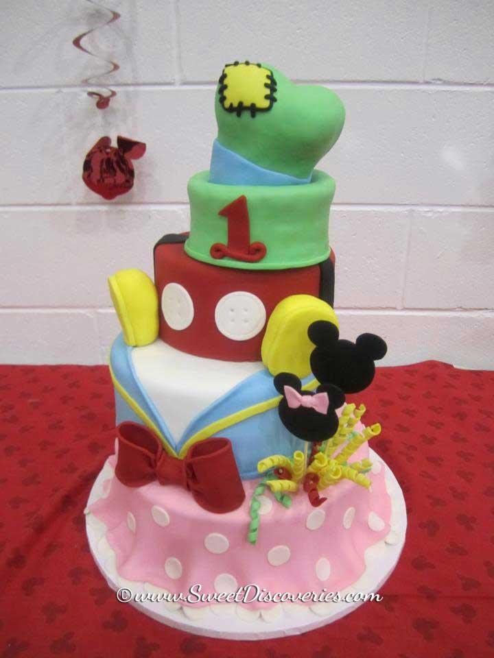 Disney Junior Birthday Cake Ideas